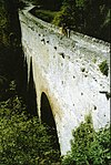 Bridge arch of Pont d'Aël