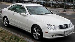 2003-2006 Mercedes-Benz CLK (US)