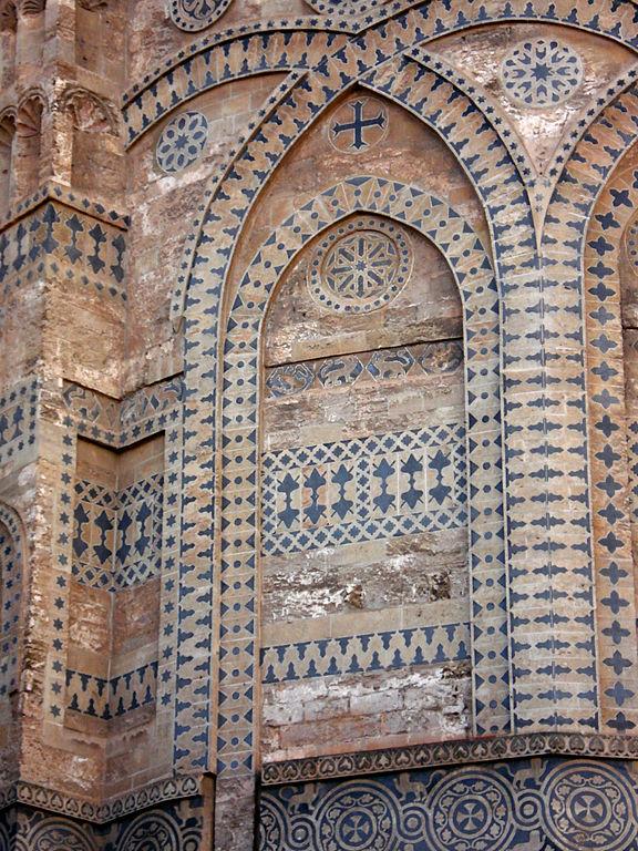 Abside extérieur de la Cathédrale de Palerme  - Photo de G.dallorto