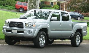 Truck classification - Image: 05 07 Toyota Tacoma Double Cab TRD