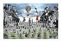 07. Miroslav Huptych, cyklus Labyrint světa a ráj srdce - Způsob povýšených světa (2013), 1000 x 700 mm, majetek autora.jpg