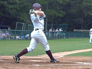 Brett Jackson - Jackson batting for the Cotuit Kettleers