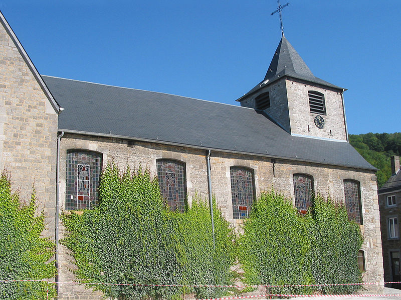 Yvoir   (Belgium), the St. Eloi church (1763).