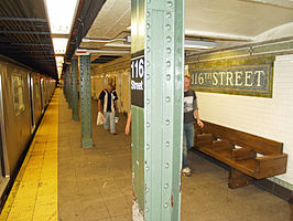 116th Street (IRT Lexington Avenue Line) by David Shankbone.jpg