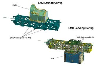 STS-126 - LMC with FHRC and NTA STS-126