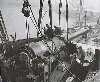 Connecticut-class battleship - Image: 12 45 mk 5 Connecticut gun pic