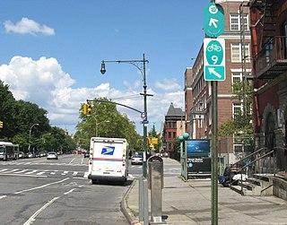 thoroughfare in Manhattan, United States