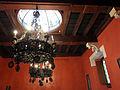 137 Castell de Santa Florentina (Canet de Mar), menjador de la família, sostre.JPG