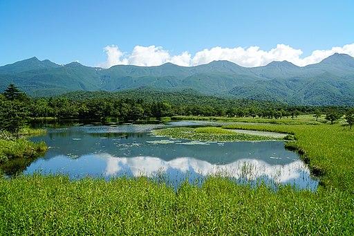 140829 Ichiko of Shiretoko Goko Lakes Hokkaido Japan01s5