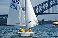 141100 - Sailing Australia 3 person keelboat action 6 - 3b - 2000 Sydney race photo.jpg
