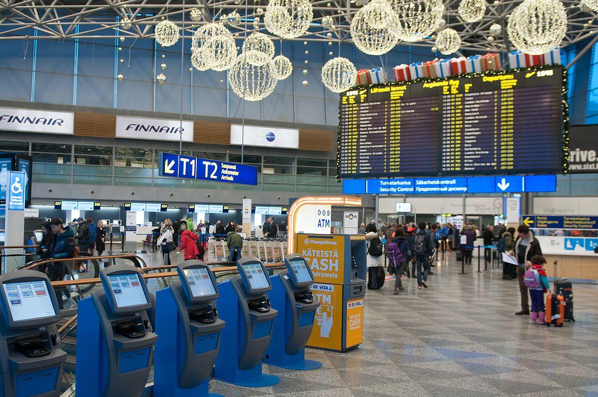Forex helsinki-vantaa lentoasema