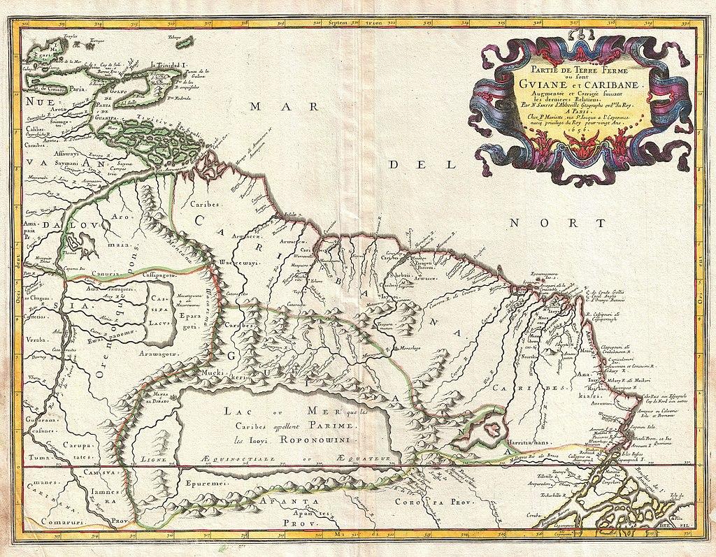 Map of Ancient Lake
