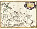 1656 Sanson Map of Guiana, Venezuela, and El Dorado - Geographicus - Guiane-sanson-1656.jpg