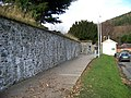 16th Century wall leading to the base of a tower at Peebles - geograph.org.uk - 1059880.jpg