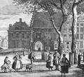 1764 - Gevangenpoort in Den Haag - Paulus Constantijn la Fargue.tif
