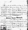 1849 july 26 death notice Jeanne Wittouck Brussels.jpg