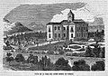 1851-03-02, Semanario Pintoresco Español, Vista de la casa del señor Madoz en Zarauz, Pizarro.jpg