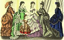 Dresses featuring the Bustle & Polonaise