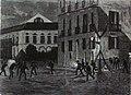 1872-07-24, La Ilustración Española y Americana, Atentado contra los reyes de España en la noche del 18 a (cropped) Lucha entre los agentes de orden público y los regicidas.jpg