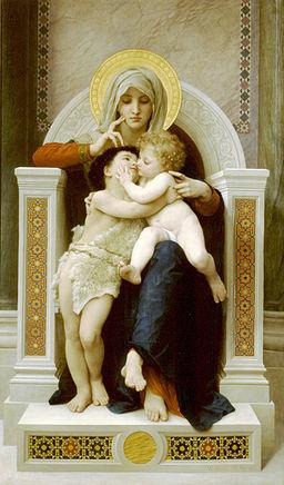 1875 Bouguereau-Vierge-Jésus-SaintJeanBaptiste
