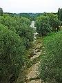 188 Llit de pedra del Ter, des del Pont Vell de Roda de Ter.jpg