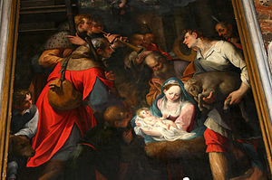 Camillo Procaccini - Nativity by Camillo Procaccini