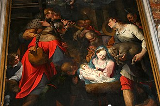 Camillo Procaccini - Nativity by Camillo Procaccini