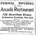 1900 - Arcade Restaurant Ad - 28 Apr LDR - Allentown PA.jpg