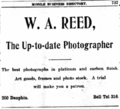 1906 W A Reed photographer advert Mobile Alabama.png