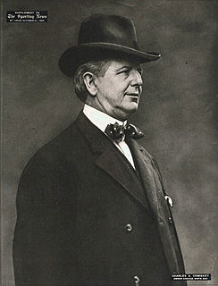 Charles Comiskey American baseball player, manager, team owner