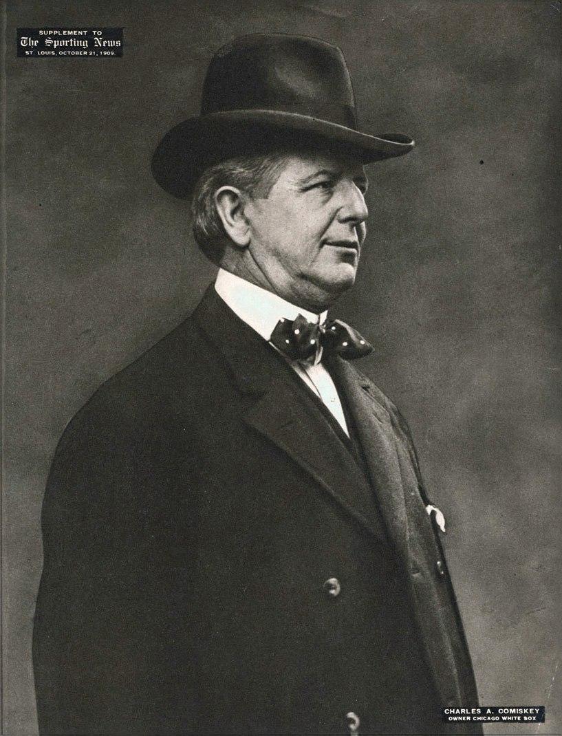 1909 Charles Comiskey