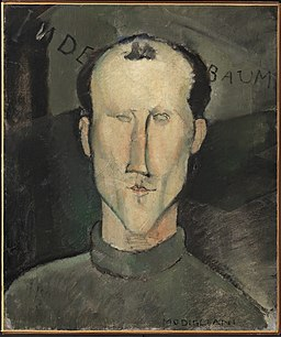 1916, Modigliani, Leon Indenbaum