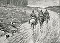1916 - Albert Reich - Dambovita, cavalerie germana in urmarirea trupelor romane, langa Targoviste p46.jpg