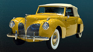 Eugene Turenne Gregorie - 1941 Lincoln Continental Convertible