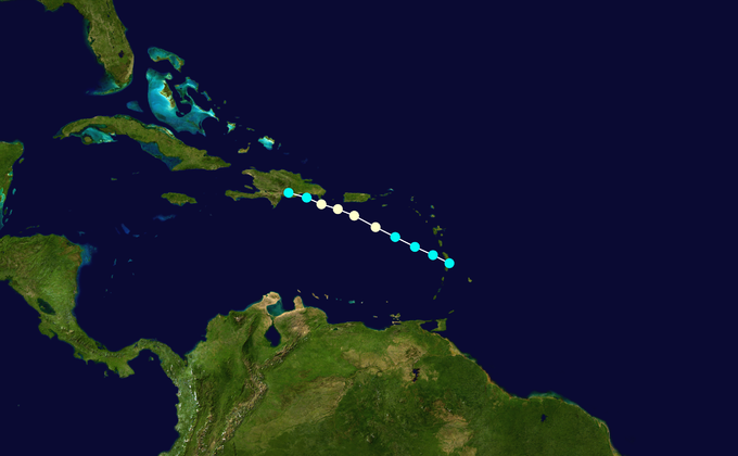 File:1949 Atlantic hurricane 10 track.png