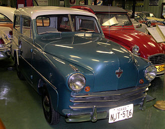 American automobile industry in the 1950s - 1950 Crosley station wagon