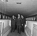 1957 Visite du ministre de l'agriculture Mr ANDRE DULIN au CNRZ-60-cliche Jean Joseph Weber.jpg