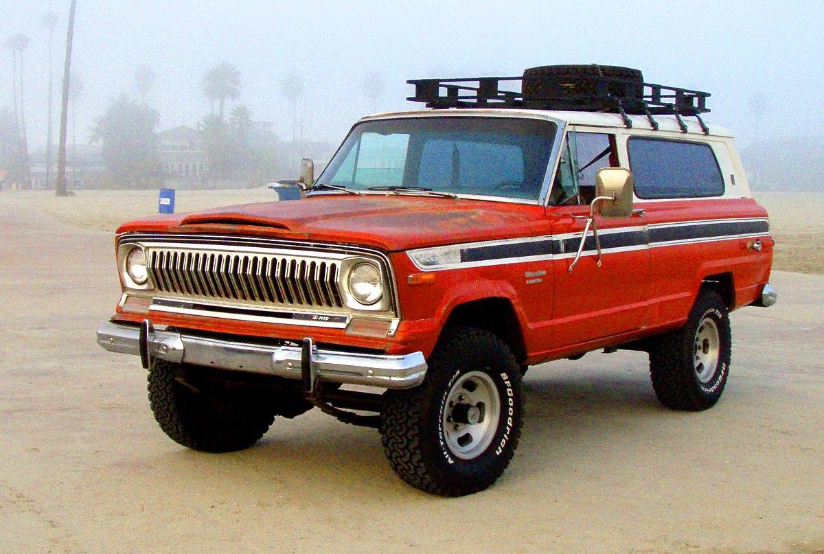 Jeep cherokee sj wikipedia for J and s motors