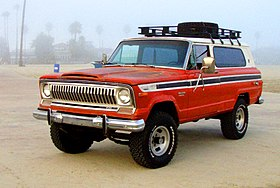 1974 Jeep Cherokee S   Beach (cropped)