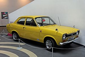 1975 Ford Escort 1100L, Museum of Liverpool (geograph 4545485).jpg