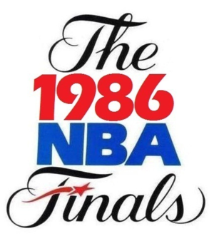 1986 NBA Finals - Image: 1986NBAFinals