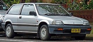 Honda Civic (third generation) Motor vehicle
