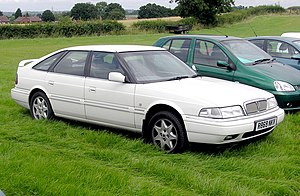 Rover 800 Series - Rover 800 Fastback (post-R17 facelift)