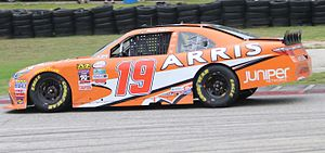 Arris International - Daniel Suárez in the No. 19 stock car sponsored by Arris Group won the 2016 NASCAR Xfinity Series Championship.