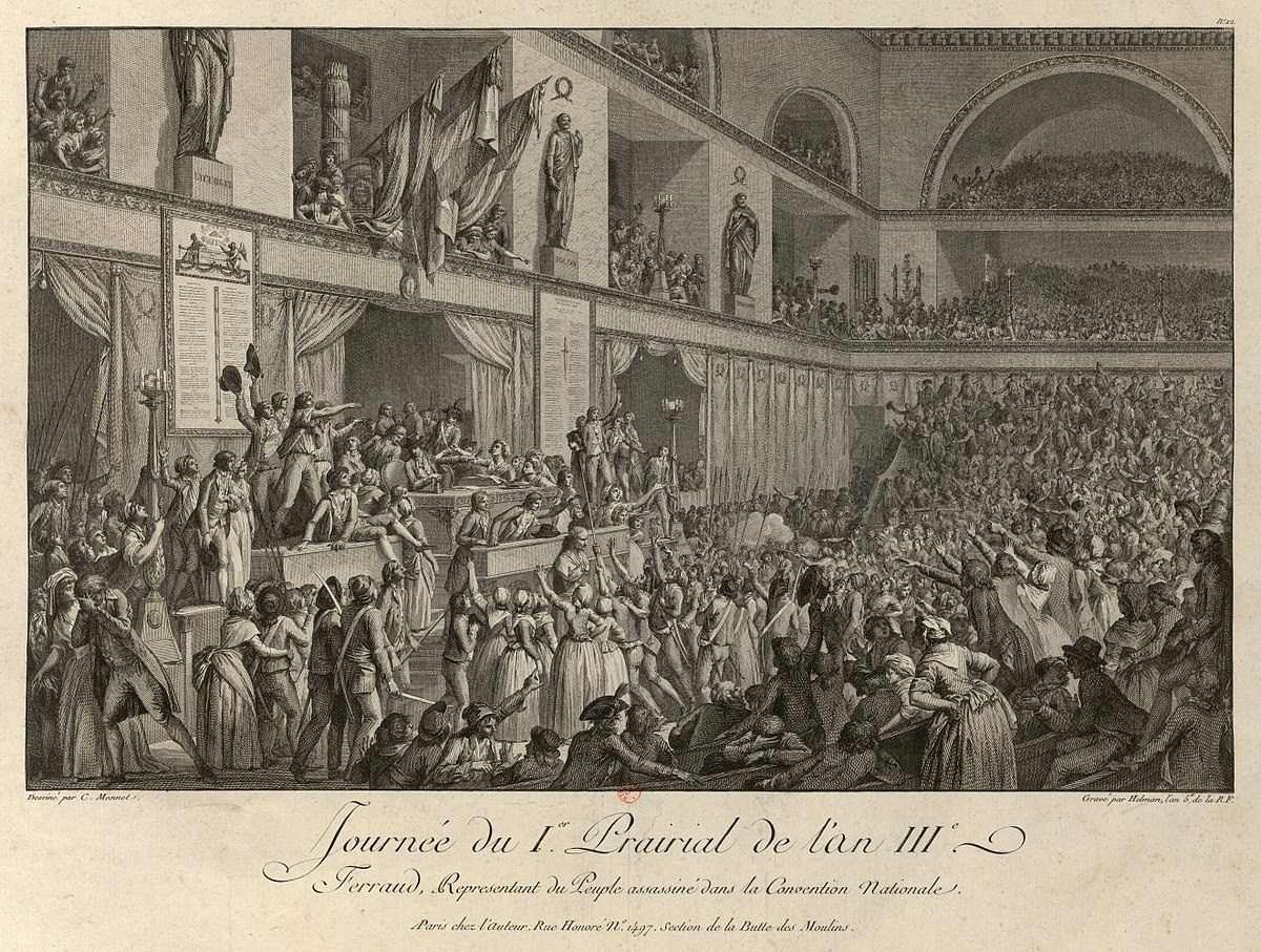What event meant the Thermidorian coup in France? Causes, significance 14