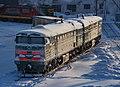 2ТЭ10М-2719, Russia, Arkhangelsk region, Nyandoma depot (Trainpix 153318).jpg