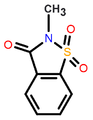 2-Methyl-1,2-benzothiazol-3(2H)-one 1,1-dioxide.png