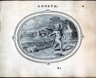 Otto van Veen - Image: 2.amorum emlemata