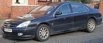 Peugeot 607 - Image: 2003 Peugeot 607 S HDI (12855130284)