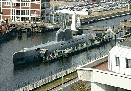 U Boot Porpoise Klasse U 2540Wilhelm Bauer in
